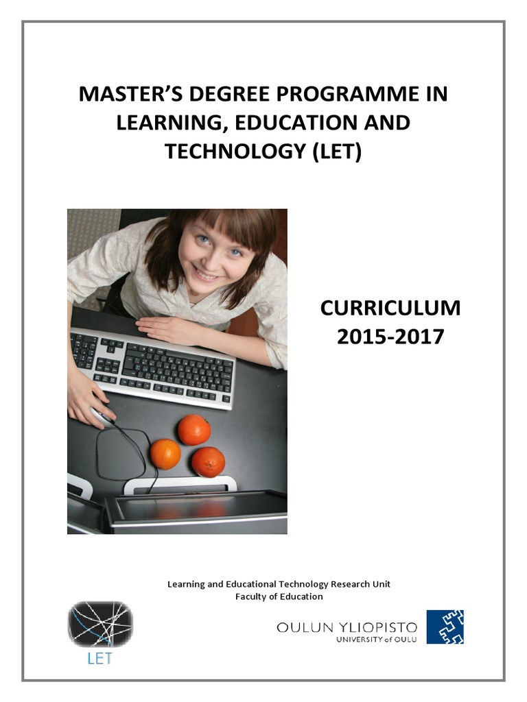masters degree in instructional technology