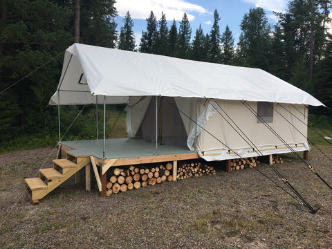 15x15 frame tent instructions