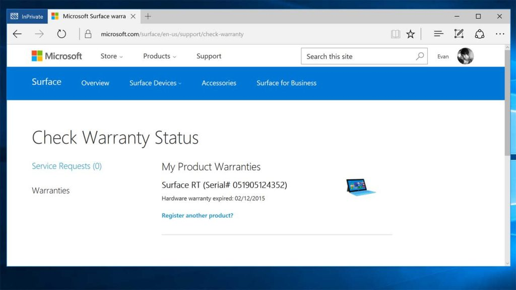 surface pro warranty shipping instructions