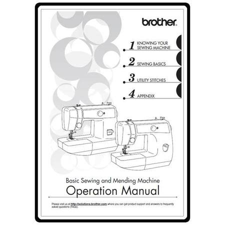 brother sewing machine ls 2150 instructions
