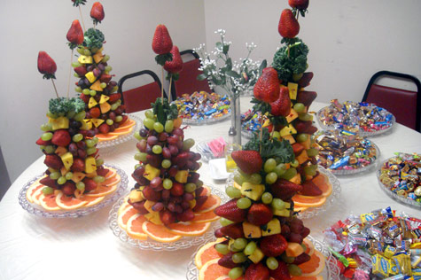 fruit christmas tree instructions