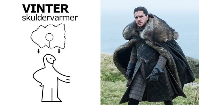 ikea instructions game of thrones