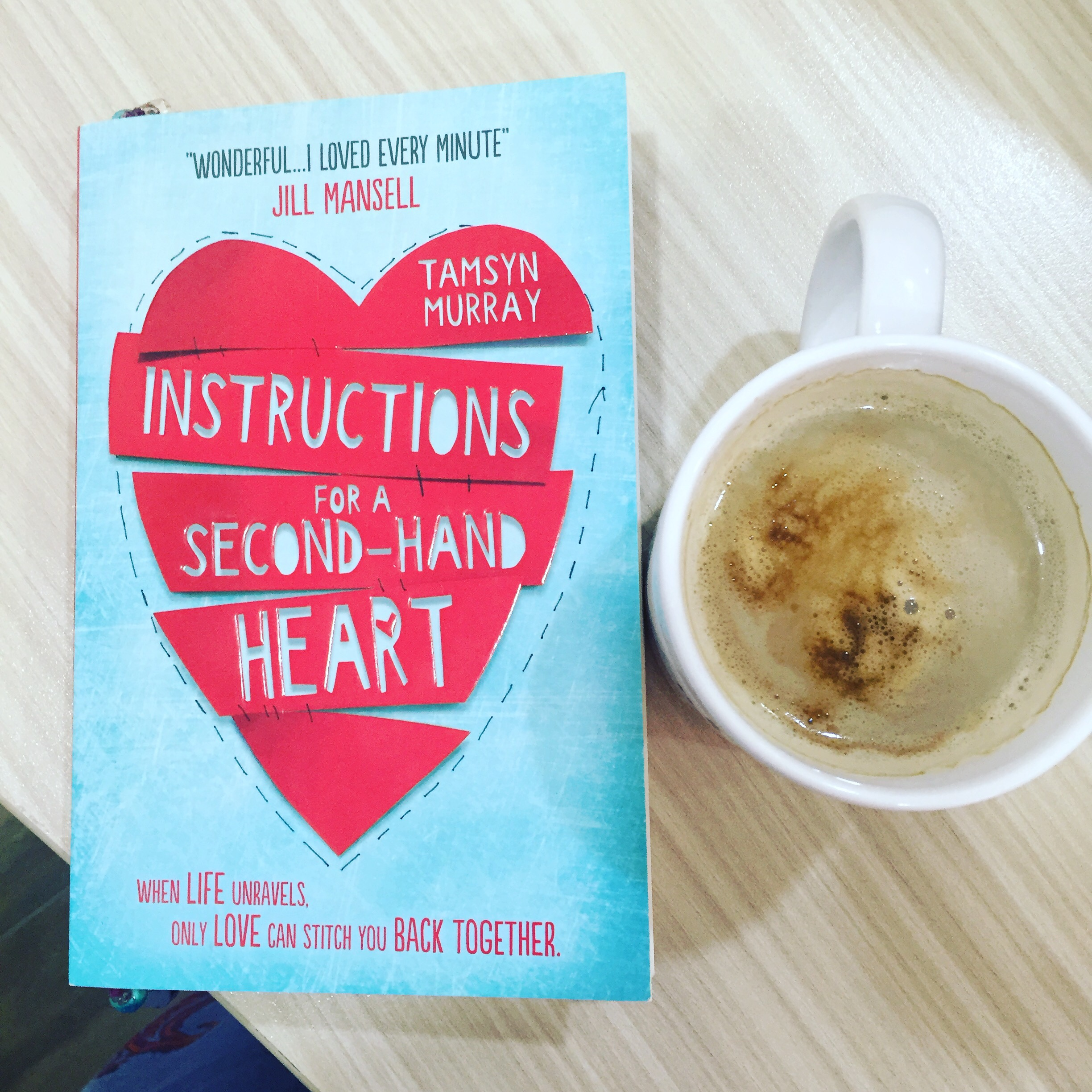 instructions for a second hand heart review