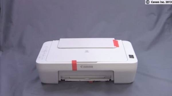 instructions for canon printer alignment