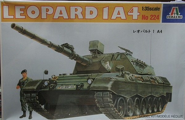 model paint instructions for australian army leopard 1a4