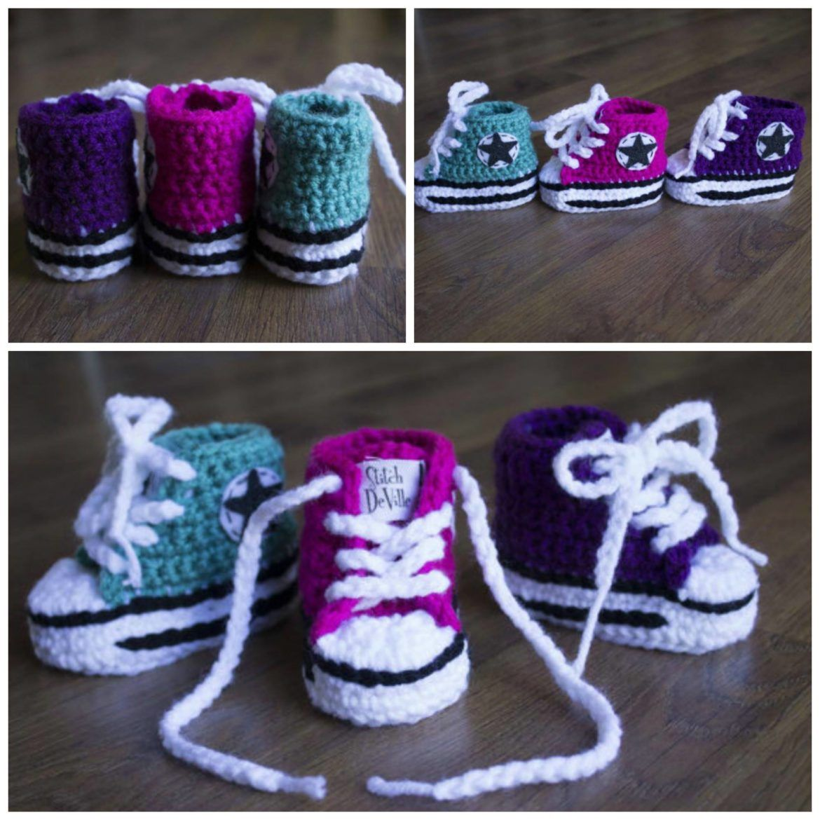 free crochet instructions for baby booties