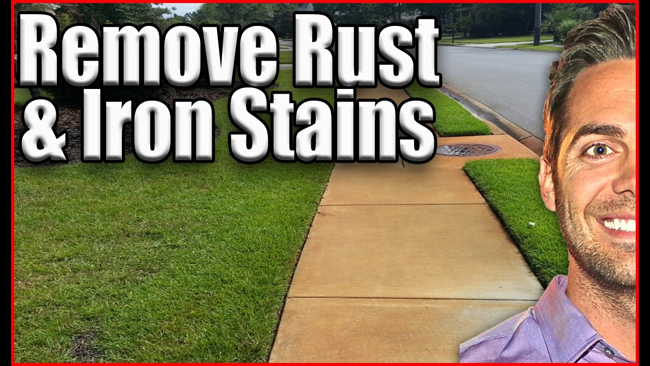 iron out rust remover instructions