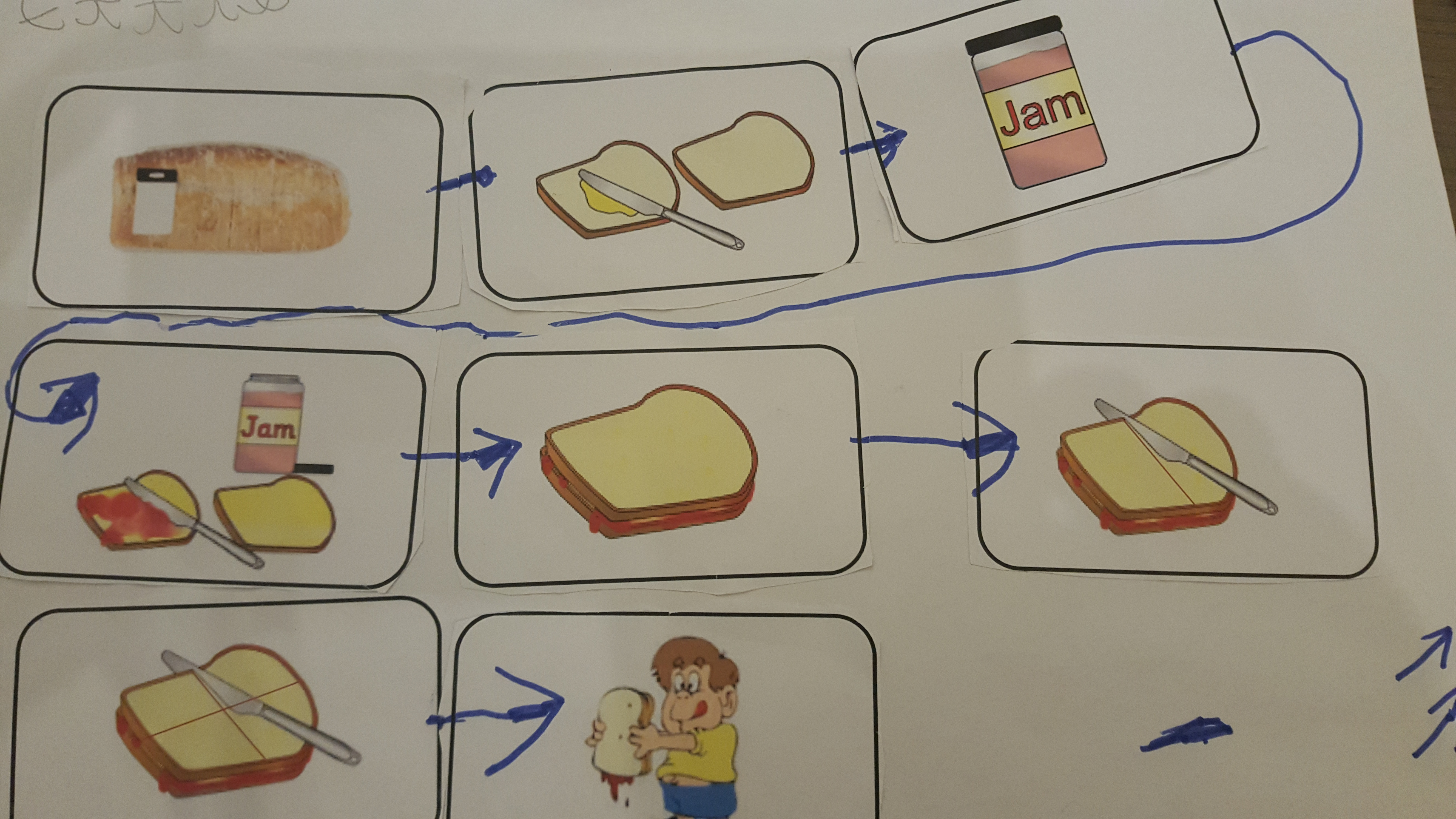 how to make jam sandwiches instructions