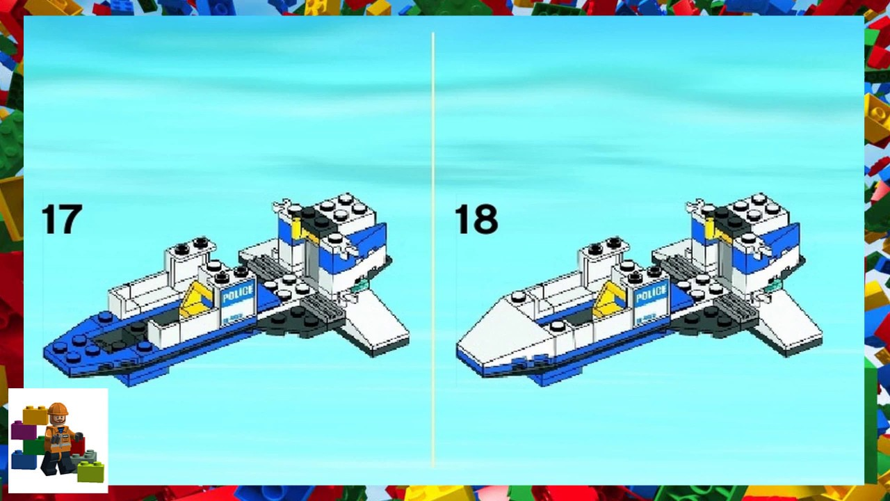 lego city police helicopter instructions 60047