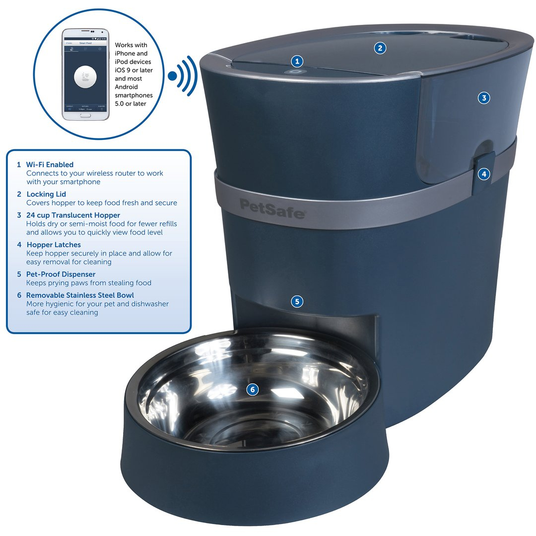 paw and pals automatic feeder instructions