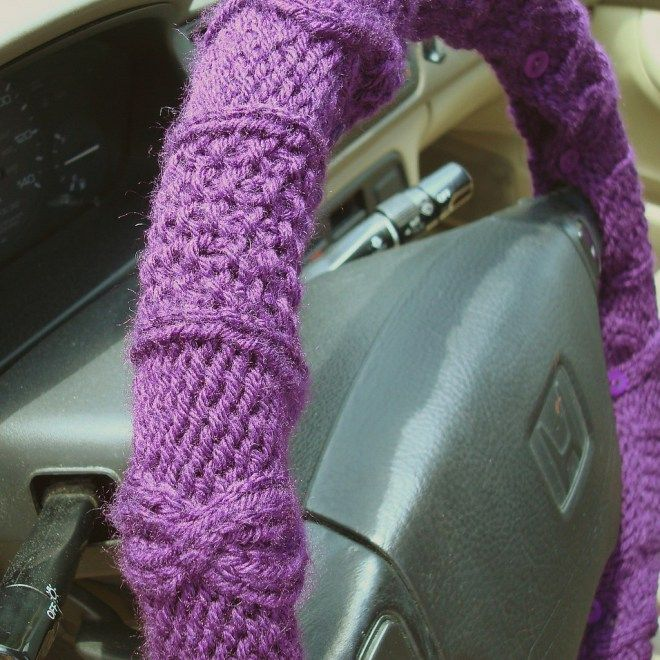 steering wheel cover lacing instructions